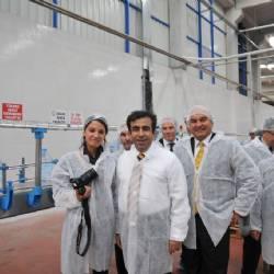 Vali Güzeloğlu Berrak Su Fabrikamızı Ziyaret Etti